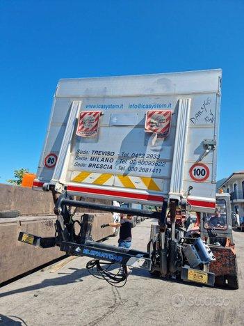 Camion pedana