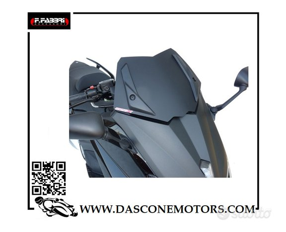 Cupolino Tmax 530 2012 2016 Nero Opaco