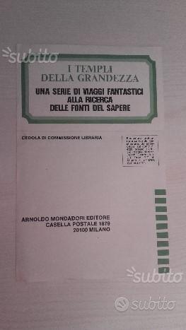 Topolino n.900-902-998 inserto TEMPLI GRANDEZZA