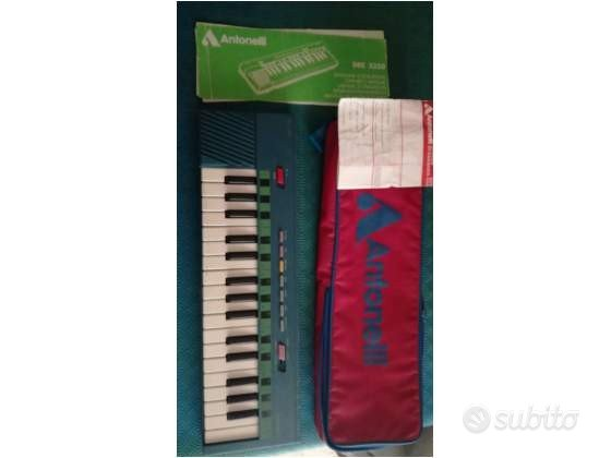 Tastiera pianola Antonelli