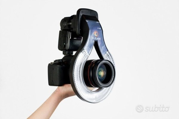 O-flash adattatore ring flash
