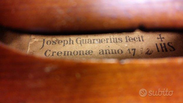 Violino Imitazione Joseph Guarnerius pezzo unico d