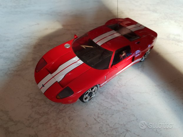 Ford gt mini Z scala 1.28 digital proportional rc