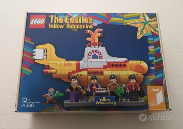 Lego 21306 - yellow submarine (nuovo - misb)