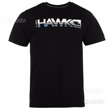 T shirt/Maglietta Tony Hawk uomo nera tg.M NUOVO