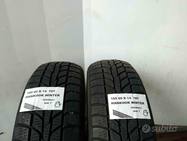 Gomme usate 165 60 r 14 hankook