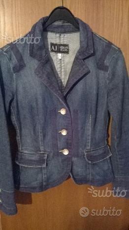 Giacca jeans armani