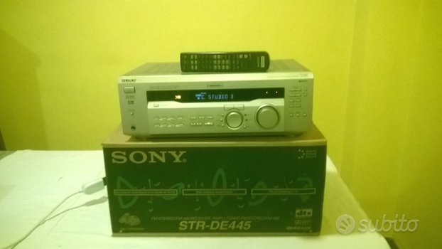 Home theatre sony str-de445/5.1+fm/rds