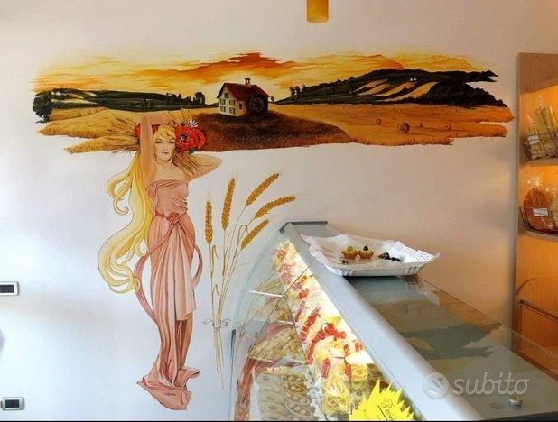 Artista decoratrice interni-esterni Murales