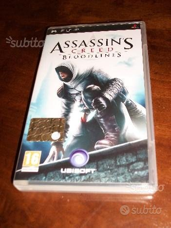 Gioco psp assassin's creed bloodlines