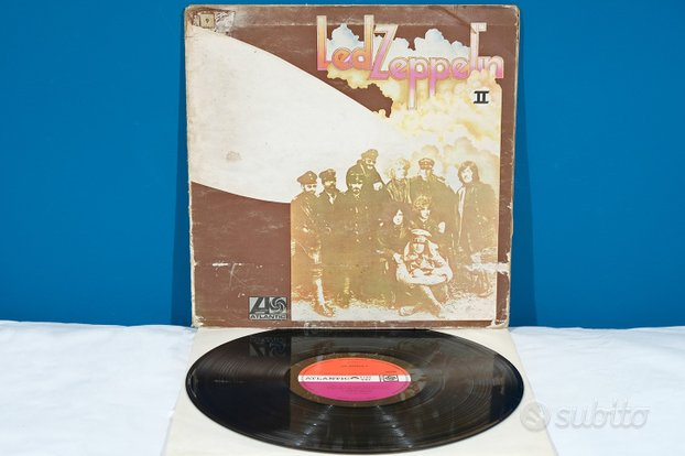 Led Zeppelin II 2 (Same) LP Vinile 1969 UK RaRo