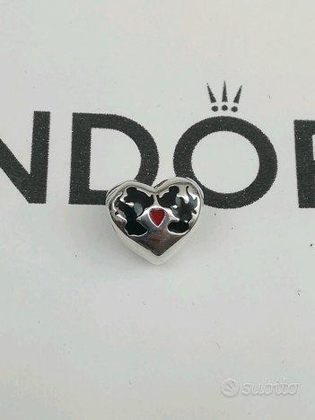 Pandora Disney Charm Il Bacio di Mickey e Minnie