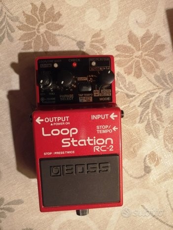 Loop station boss rc2