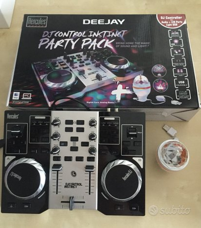 Consolle per deejay