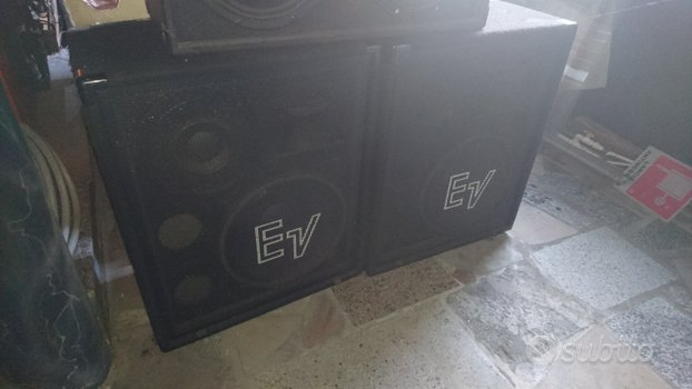 Casse acustiche, passive Electrovoice