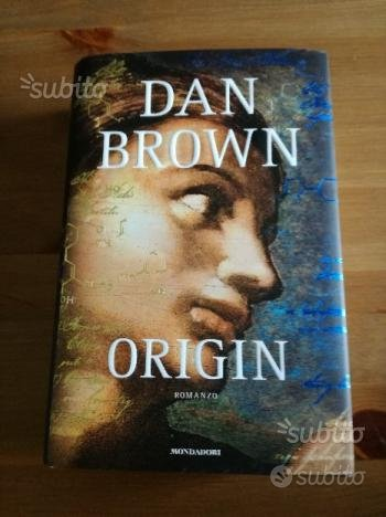 Vendita libri Dan Brown, copertina rigida