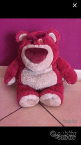 Pupazzo peluche orso Lotso Toy Story 3