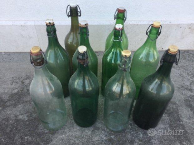 Bottiglie in vetro vecchie - Arredamento e Casalinghi In ...
