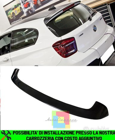 Bmw serie 1 f20 f21 spoiler tetto look m in abs