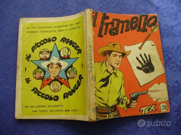 """TEX numero 10 SPILLATO """"Il Tranello"""" L.200"""