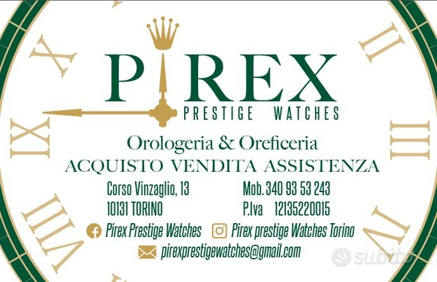 Rolex -r.i.t.i.r.o-usato torino