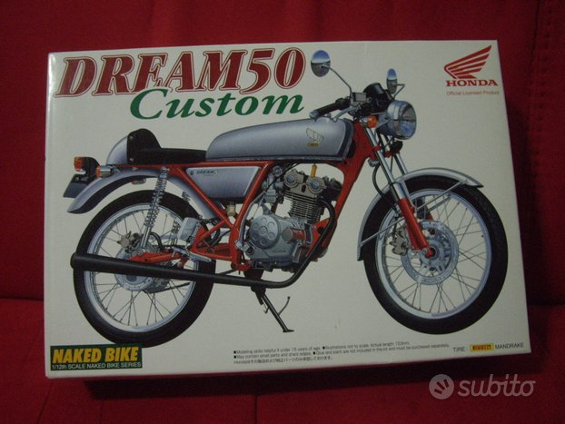 Aoshima Honda Dream 50 no tamiya protar