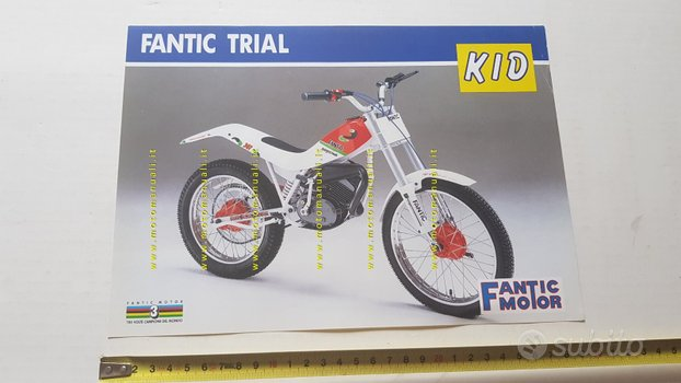 Fantic Motor Trial 50 Kid depliant originale