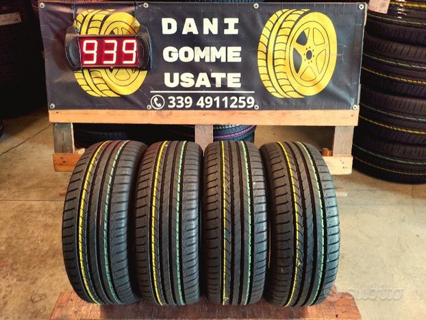 4 Gomme Usate 195 55 15 ESTIVE 90/95% GOOD YEAR