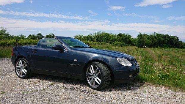 Mercedes SLK R170 1998 ASI storica schwarzblau