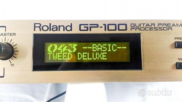 Processore multieffetto Roland GP.100 e pedaliera