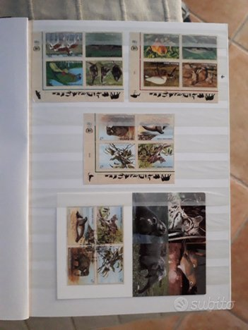 Francobolli O.N.U. Collezione