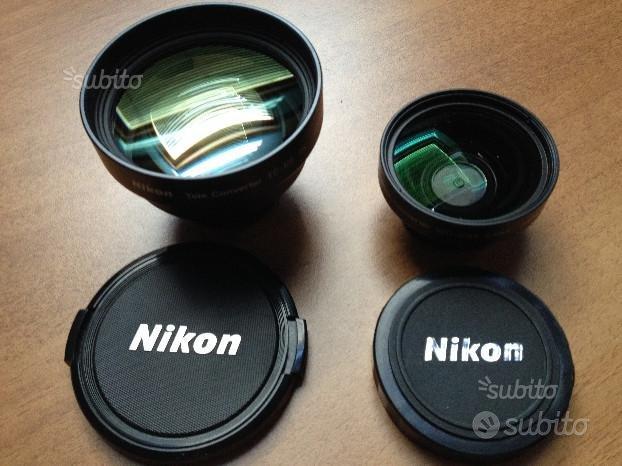 N° 2 obiettivi Nikon