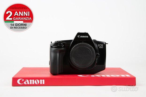 Canon eos 650-2 ANNI DI GARANZIA