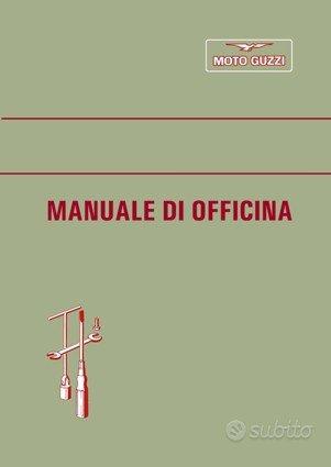 Moto Guzzi Epoca Manuale Officina vari