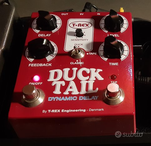 T Rex delay/echo Duck Tail Dinamic Delay