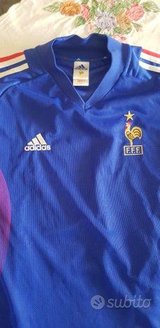 Maglia Calcio Francia nazionale 2002 taglia L