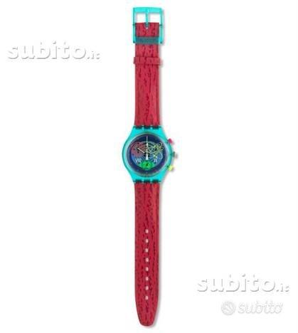 Swatch chrono pinksprings