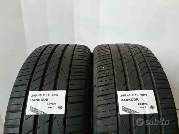 Gomme usate 245 45 r 19 hankook