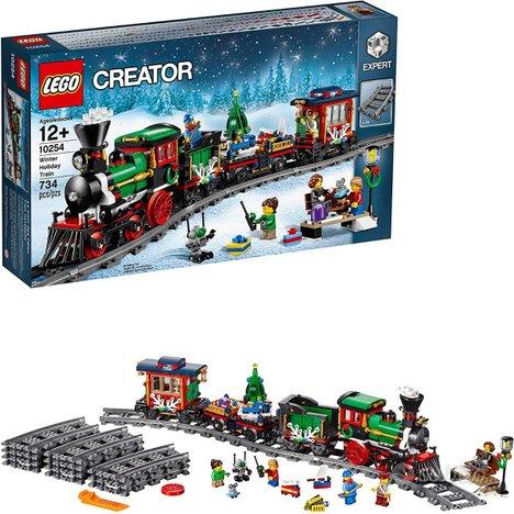 LEGO Creator Expert Treno di Natale, 10254