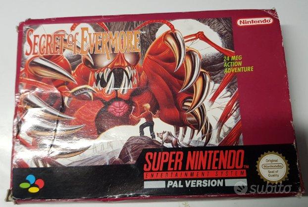 Secret of Evermore Super Nintendo completo