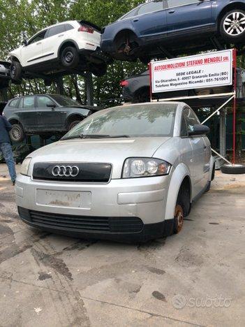 Ricambi Audi a2 1.4 benzina AUA