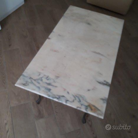 Tavolino marmo vintage