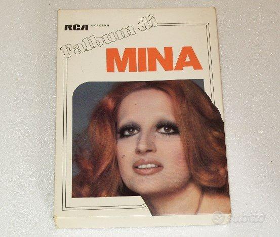 Cofanetto L'Album di MINA con 3 musicassette RCA