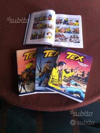 Collezione fumetti TEX completa da 1 a 135
