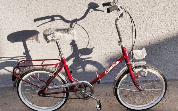 Bicicletta vintage pieghevole modello Graziella