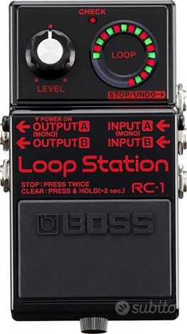 BOSS RC1 limited edition