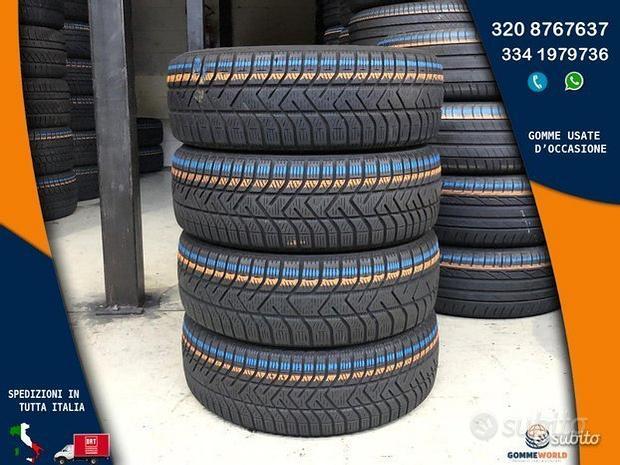 4 gomme 185 60 15 - Pirelli invernali