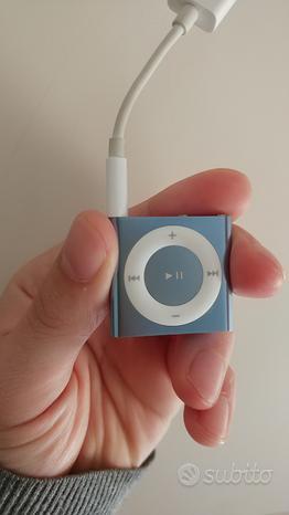 IPod Shuffle blu 4th 2GB