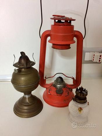Lanterna antica a olio