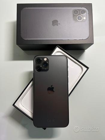 IPhone 11 Pro 256 GB Space Gray COME NUOVO + Cover